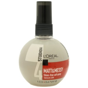 Hair Styling by L'Oreal Paris Studio Line Matt Messy Shine-Free Salt Spray