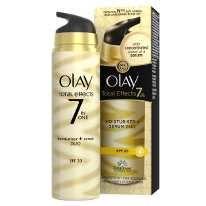 Olay Total Effects 7-in-1 Moisturiser + Serum Duo SPF20