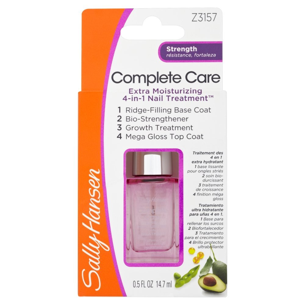 Sally Hansen - Nail Growth/Cure/Strengthener Review