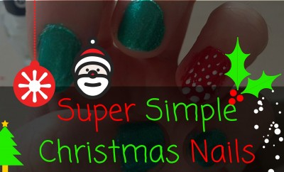 Super Simple Christmas Nails