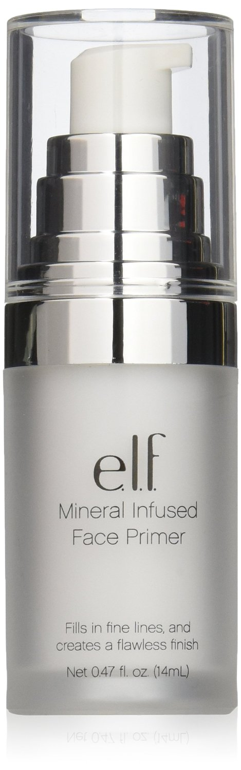 The e.l.f. collection of makeup primers has been formulated by professionals and are tested by makeup artists to give you the best makeup base possible. Our Mineral Face Primer is a longtime customer favorite and is created to balance oily and dry skin as well as giving you a brighter, even complexion.