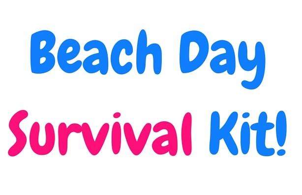 Beach Day Survival Kit