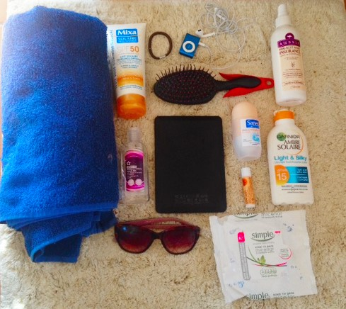 what to take to the beach