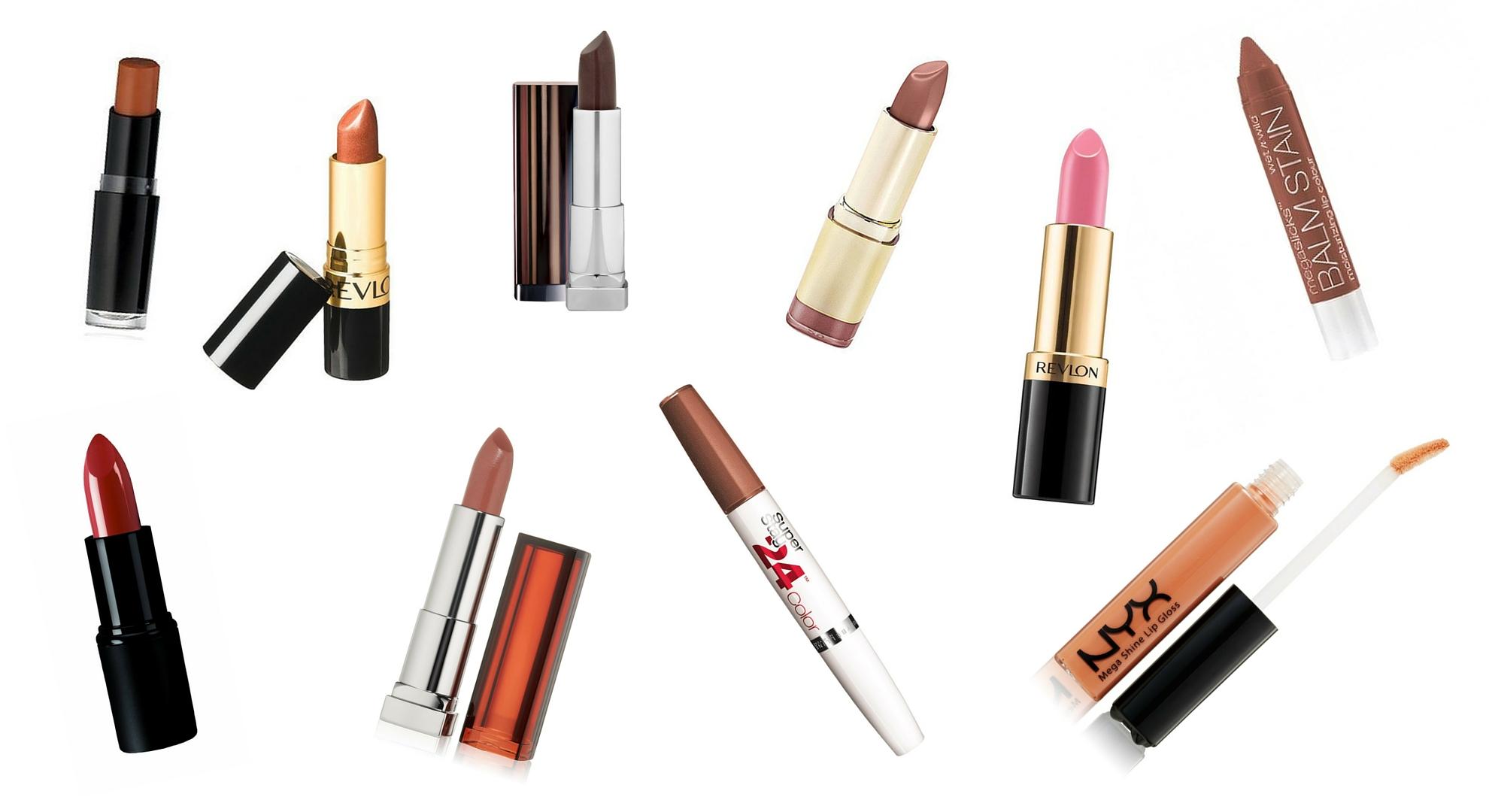 top 10 nude lipsticks for dark skin