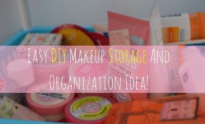 Makeup Storage Idea
