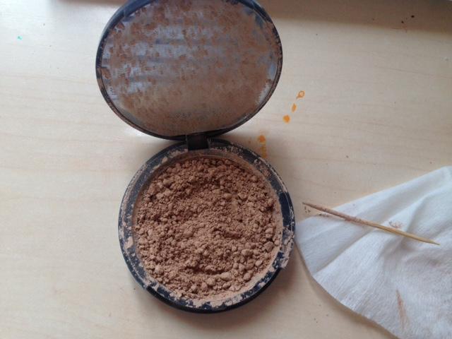 fix smashed makeup