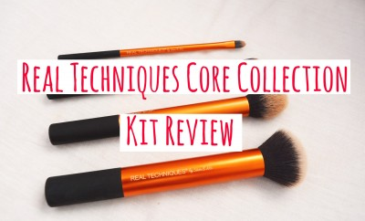 Real Techniques Core Collection Kit Review