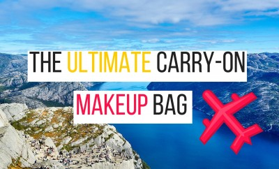 what to put in a carry on makeup bag