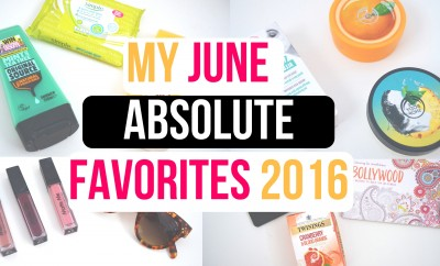 My June Favorites 2016