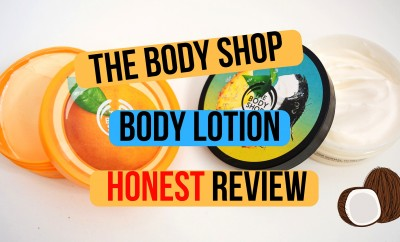 The Body Shop Body Lotion Honest Review