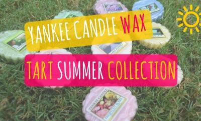 Yankee Candle Wax Tart Summer Collection