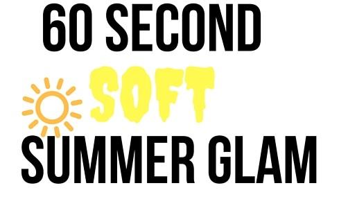 Quick Summer Glam Makeup