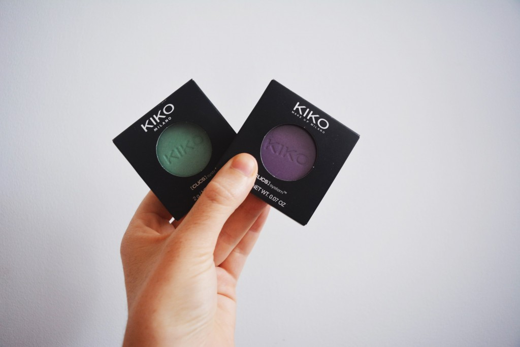 kiko eyeshadows
