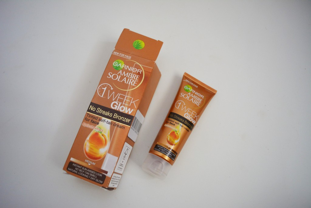 Garnier 1 week facial tanner