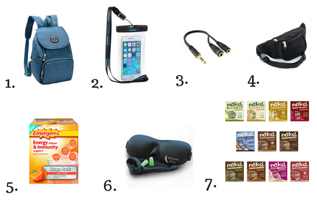 Travel Accessories Wishlist