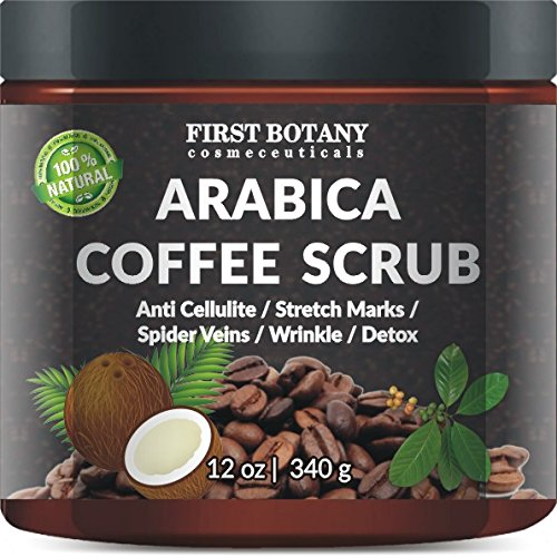 picture of coffee scrub for stretch marks and wrinkles
