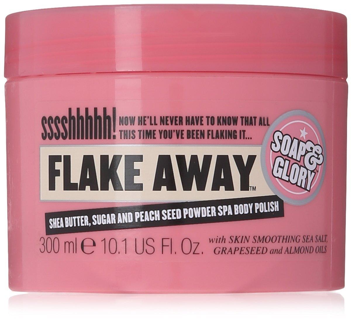 winter body scrubs flake away soap and glory