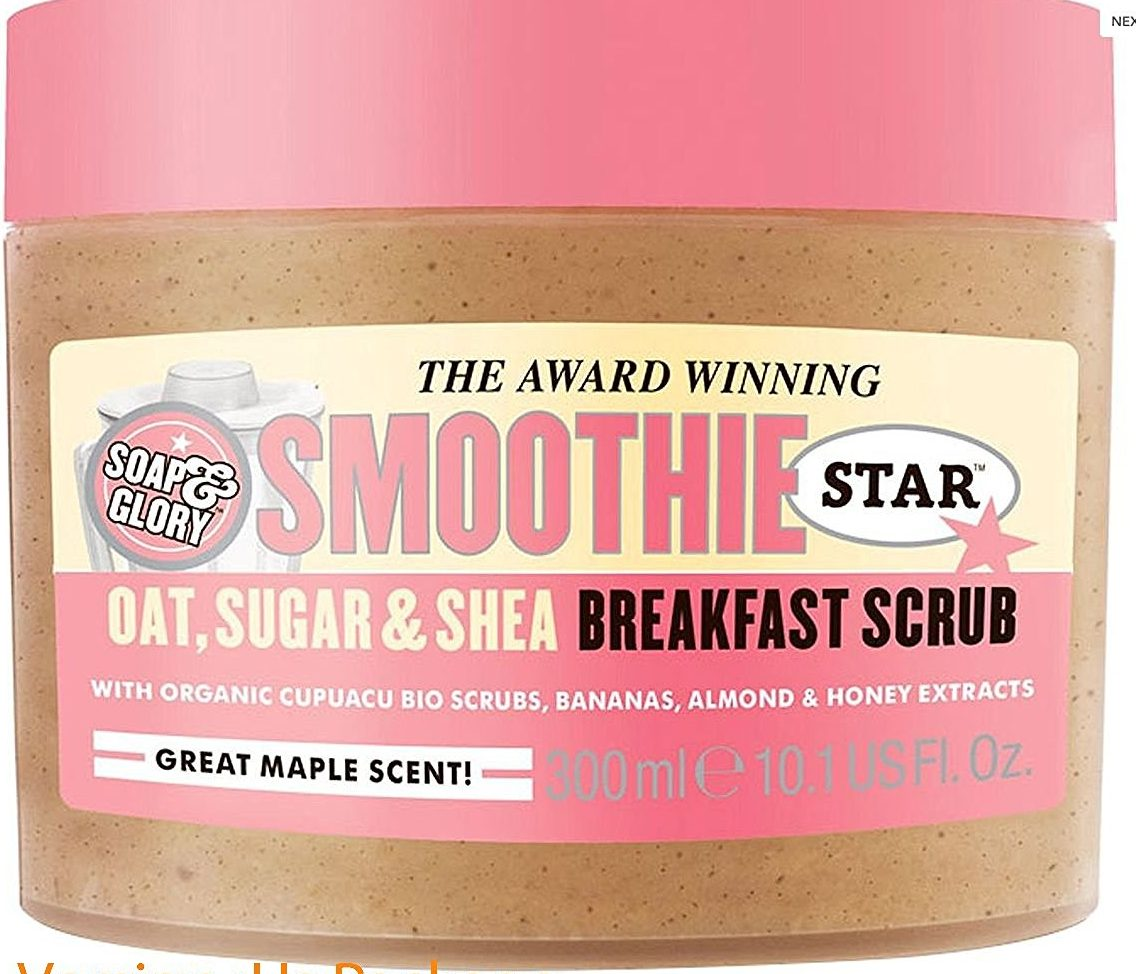 soap and glory breakfast scrub review