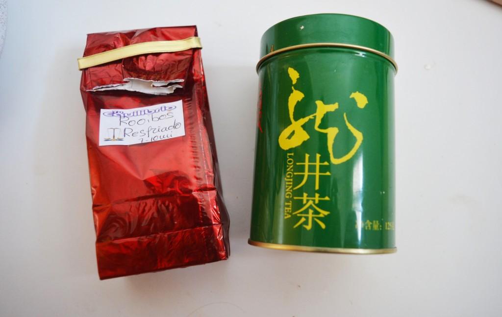 aloe vera and mint tea