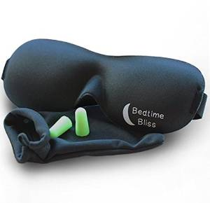 eye mask and earplugs for travelling