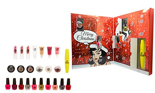 w7 Makeup Advent