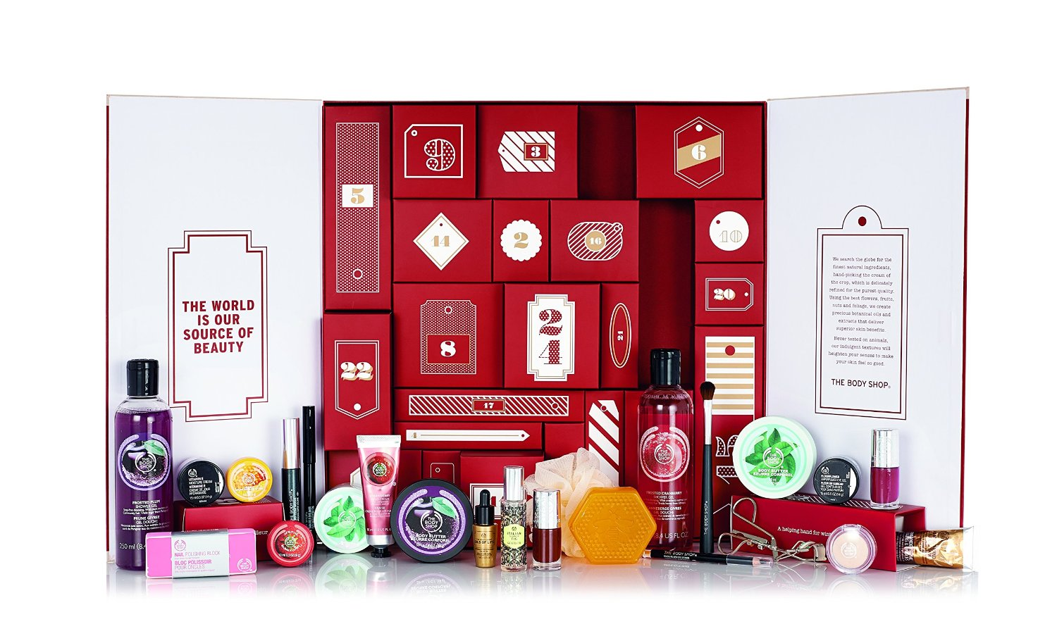 the body shop advent calendar photo