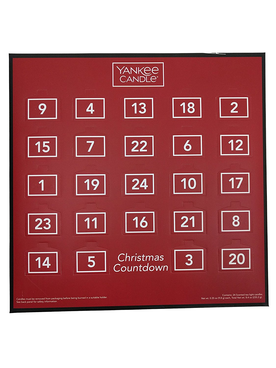 yankee tealight advent picture