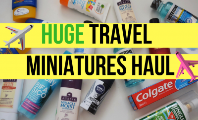 Huge Travel Miniatures Haul