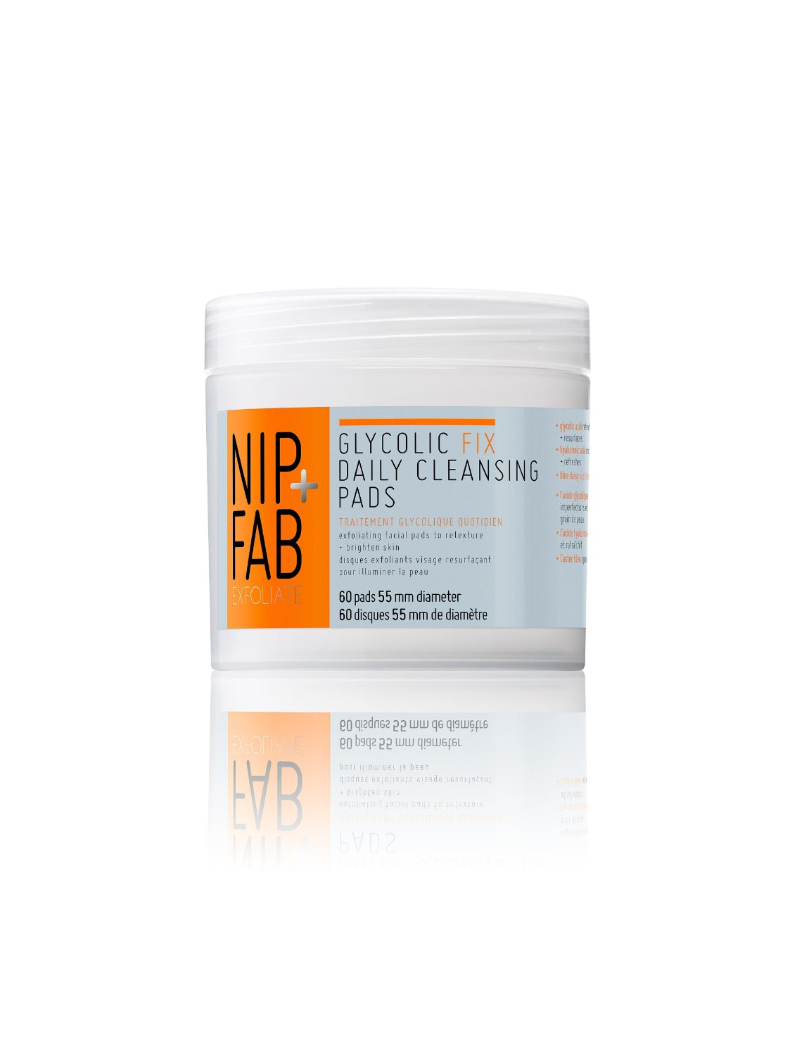 nip and fab cleansing pads photo