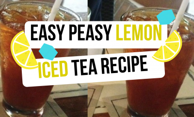 Super Easy Lemon Iced Tea Recipe