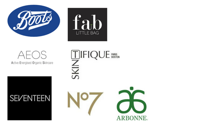 brands i have worked with