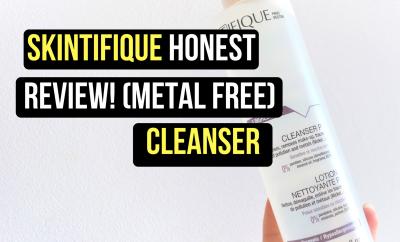 Honest Skintifique Cleanser P Review (Nickel Free)