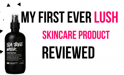 My First EVER Lush Skincare Product Reviewed (Tea Tree Toner Water)