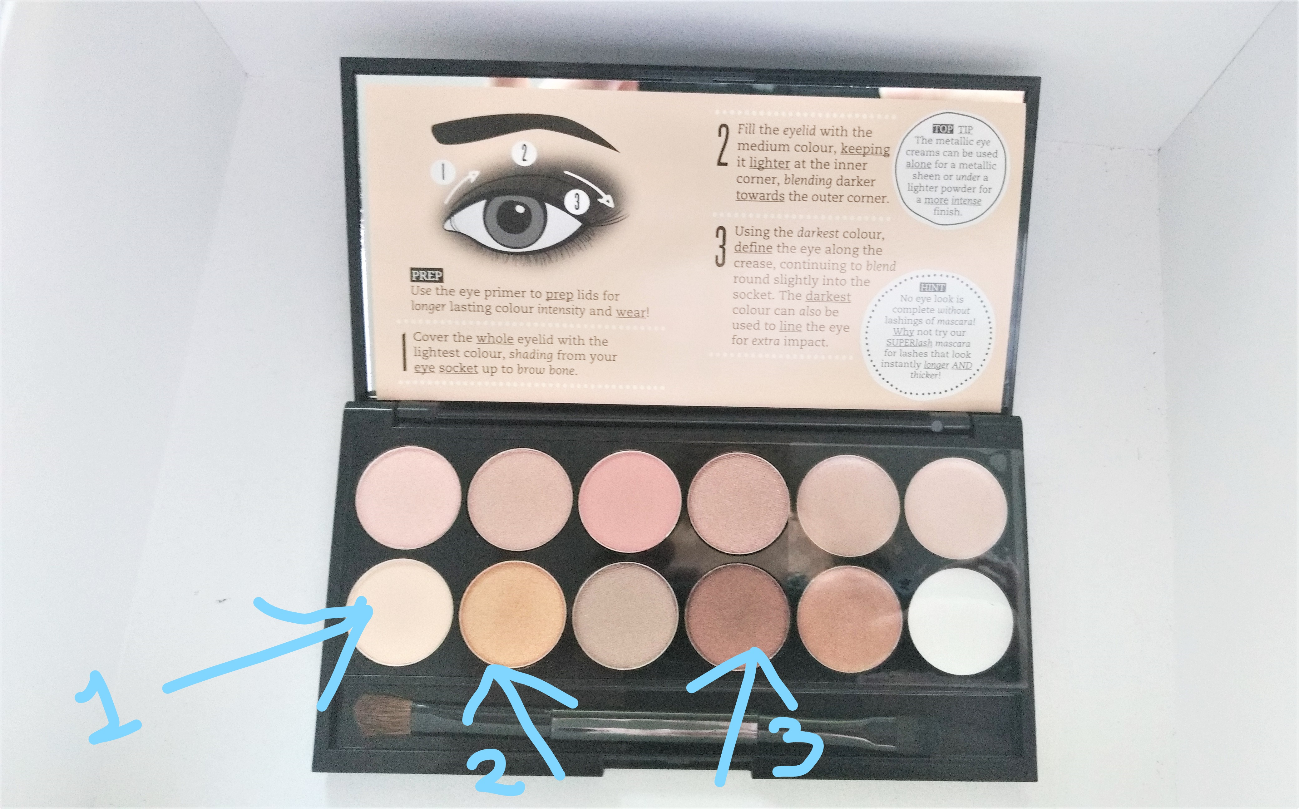 birthday suit eyeshadow palette